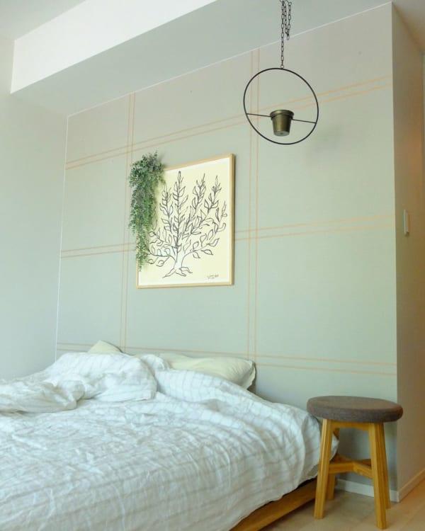 寝室も緑があるとリラックス効果抜群