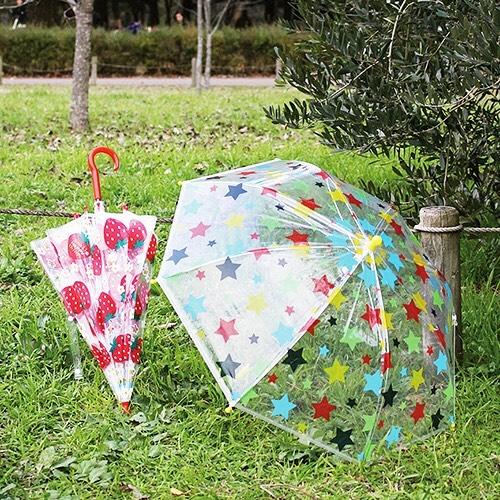 キッズビニール傘