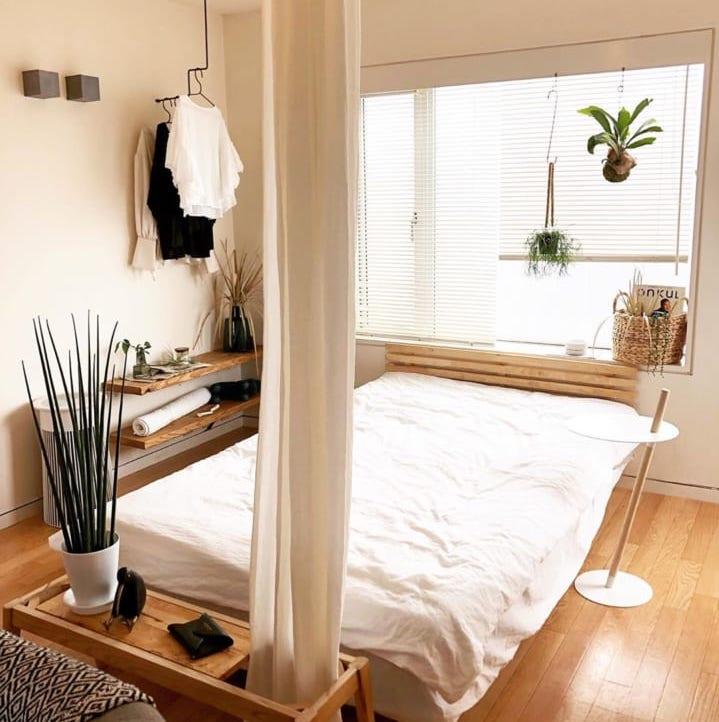 一人暮らしでもこだわりたい♪おしゃれな「寝室インテリア ...