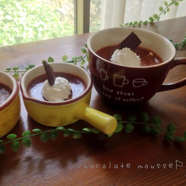 簡単 チョコレート レシピ12
