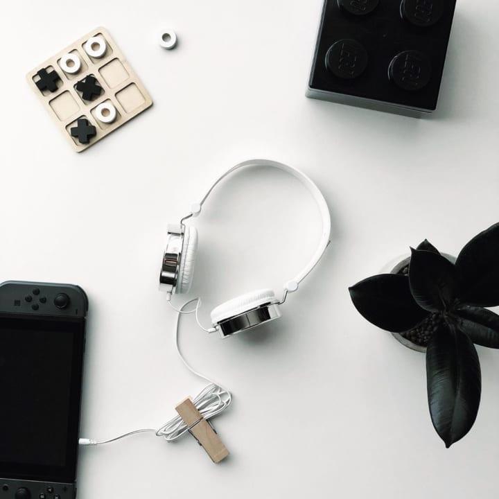ダイソーのヘッドフォン2