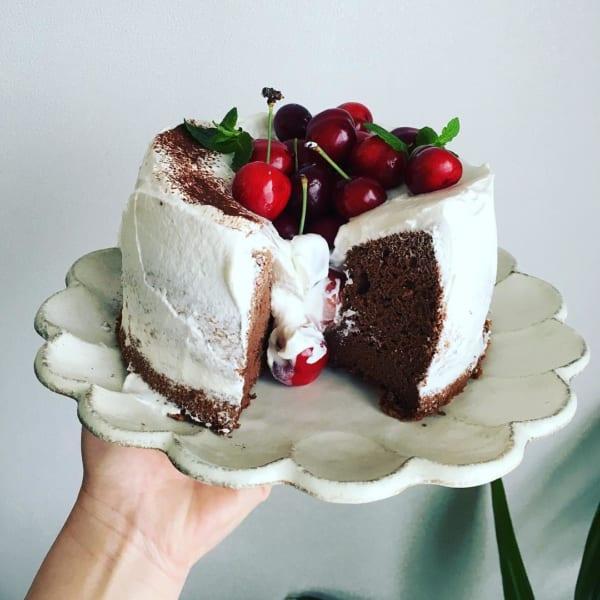 チョコレートケーキ レシピ9