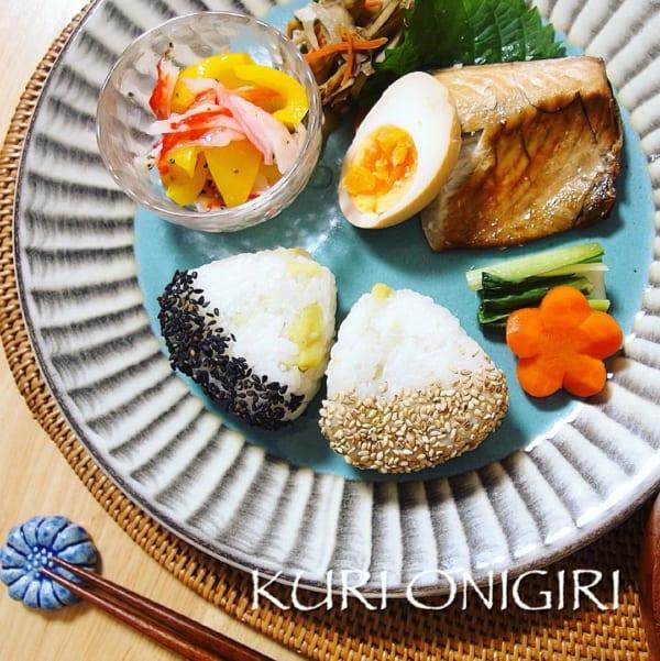 栗 レシピ ご飯物5