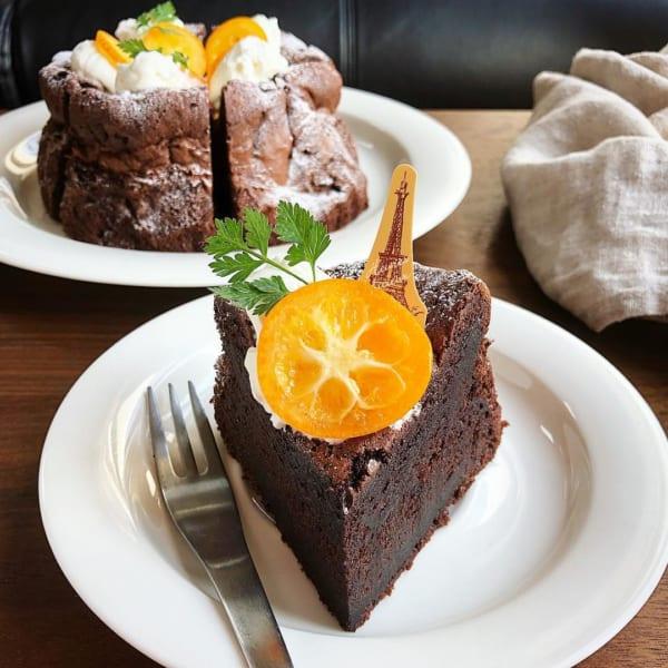 チョコレートケーキ レシピ17