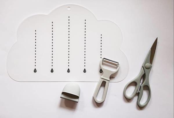 雲型まな板シート セリア