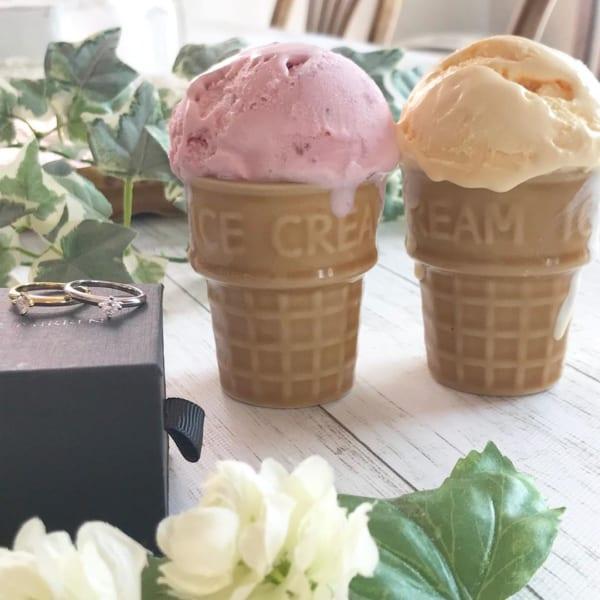 暑い日は家のなかでひんやりアイスクリーム♡