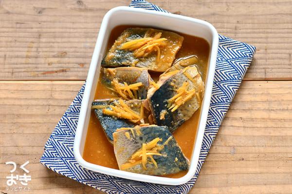 定番レシピ!サバの味噌煮