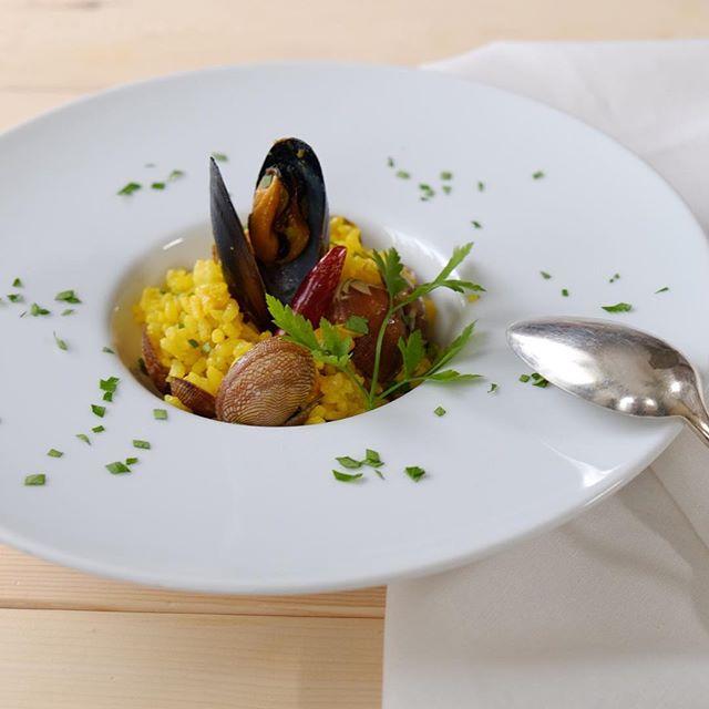 魚介のサフランリゾット人気レシピ