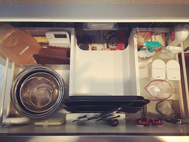 キッチン 掃除道具収納3