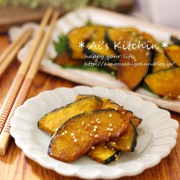 お弁当に人気のかぼちゃレシピ 副菜6