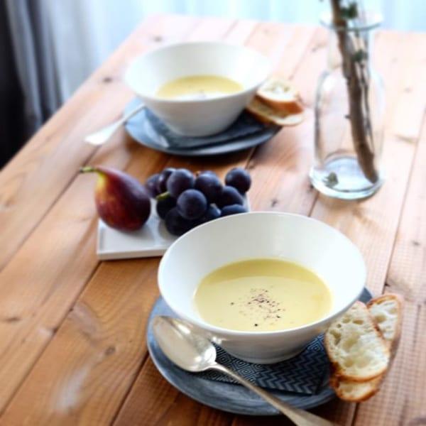 ⑭スープレシピ:みんな大好きコーンスープ