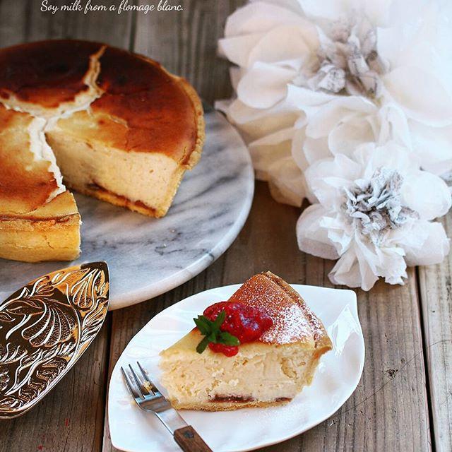 ⑲美味しいスイーツレシピ:豆乳スフレチーズ