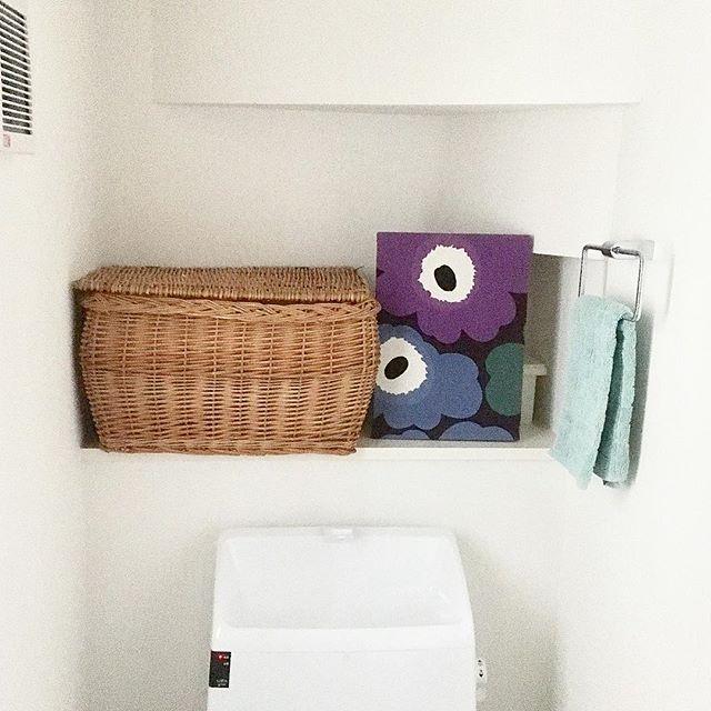 トイレ 掃除道具収納