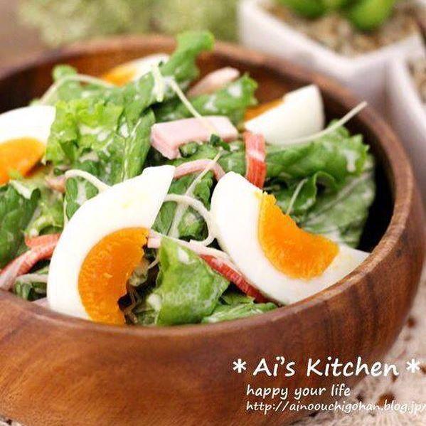 レタスの人気レシピ《サラダ・副菜》10