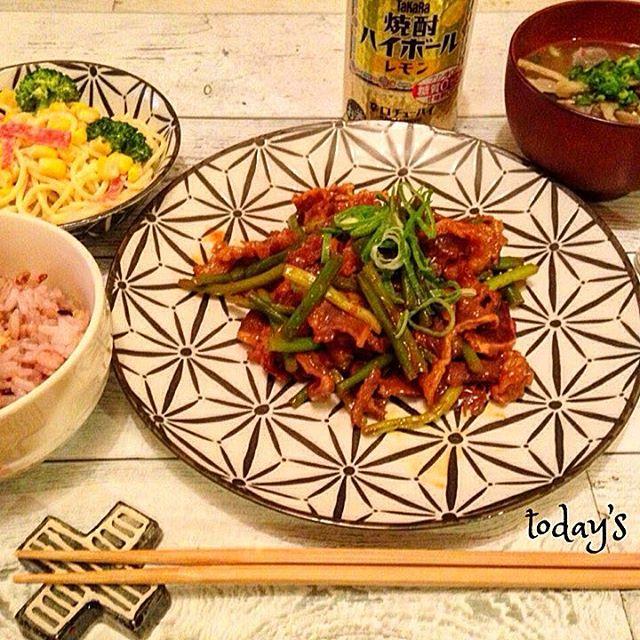 牛肉 お弁当レシピ 炒め物おかず3