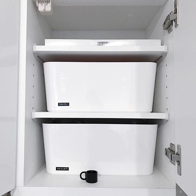 お皿のおすすめ収納術《IKEAアイテム》