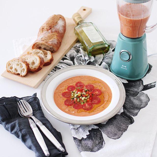 ⑦簡単スープ:おしゃれなガスパチョ
