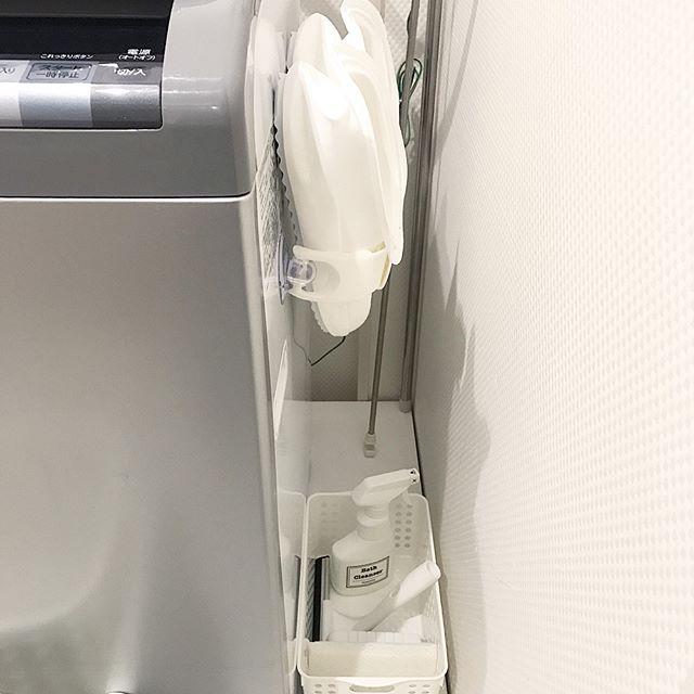 洗面所 掃除道具収納2