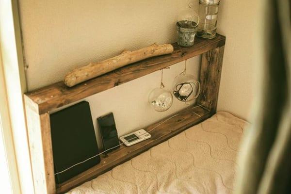 【私の秘密基地】のポイント③自然素材を使った家具やインテリア
