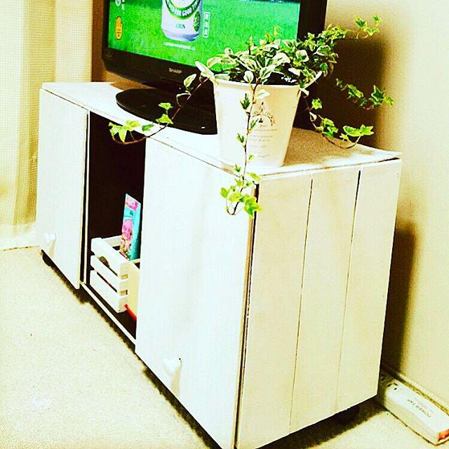 カラーボックステレビボード3