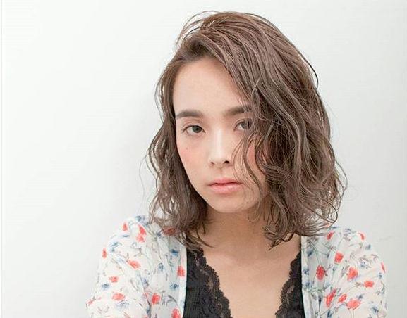 大人 ボブ 髪型 パーマ・巻き髪4