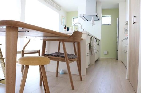 キッチンに色をプラスして変化を2