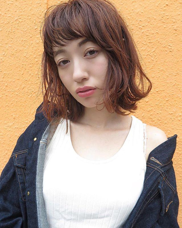 大人 ボブ 髪型 パーマ・巻き髪3