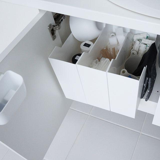 洗面所 掃除道具収納3