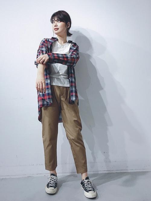 [koe] ・オーバーサイズシャツ ●