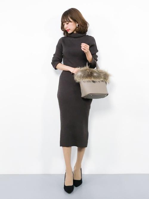 プチプラ ニットスカート3