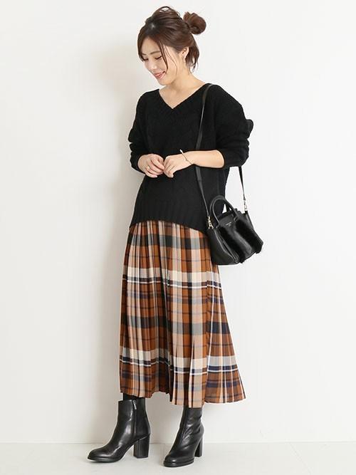 大人カジュアルコーデ《スカートスタイル》7