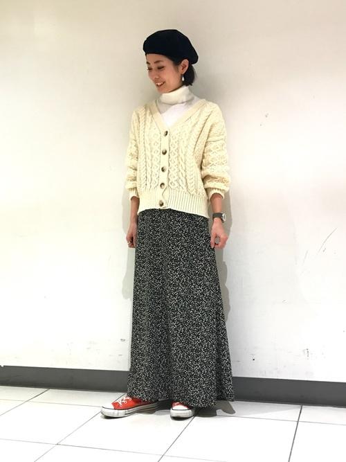 [FREAK'S STORE] プリントマキシカート