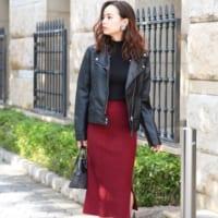 赤スカートの秋コーデ特集!30代40代の大人女子におすすめの着こなしをご紹介