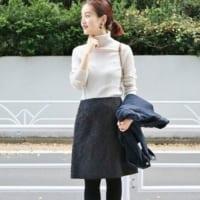 台形スカートの秋コーデ特集!30代40代の大人カジュアルな着こなしをご紹介♪