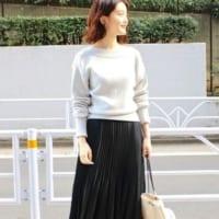 黒スカートの冬コーデ特集!トップスで雰囲気が変わる30代・40代の着こなし術