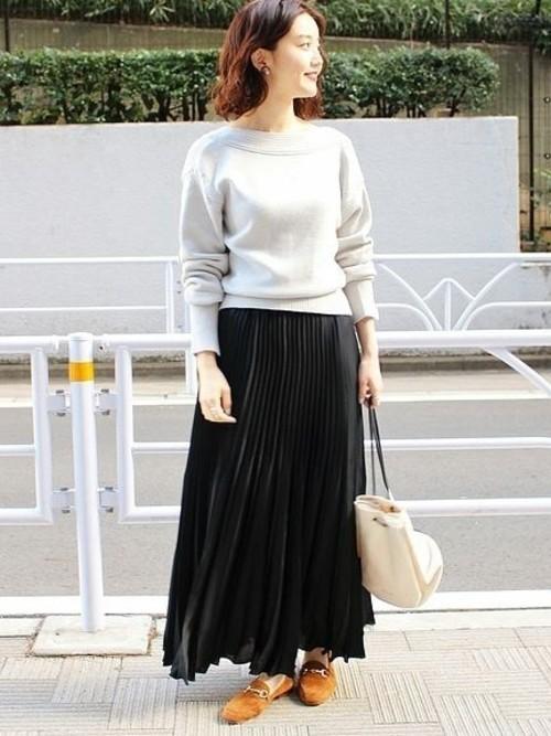 黒スカート9