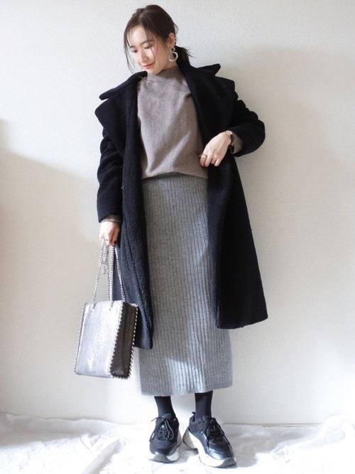 プチプラ ニットスカート4