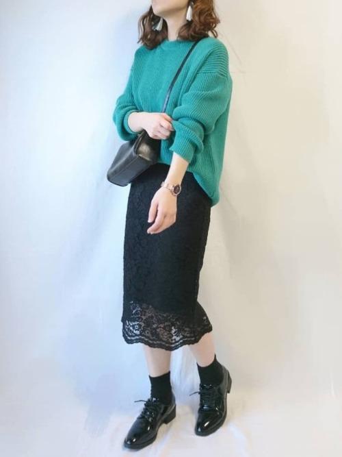 黒スカート14