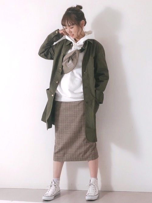 [Nilway] 【ROUND HOUSE】 Shop Coat