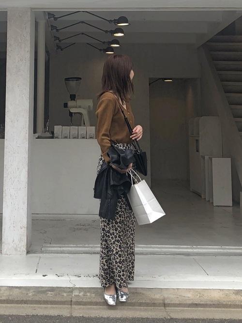 [URBAN RESEARCH] プリントマキシスカート