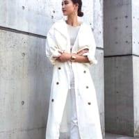 秋のホワイトコーデ特集!オール白で上品なレディースファッション♡