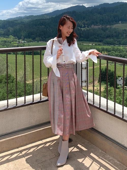秋 フェミニンファッション プチプラコーデ3