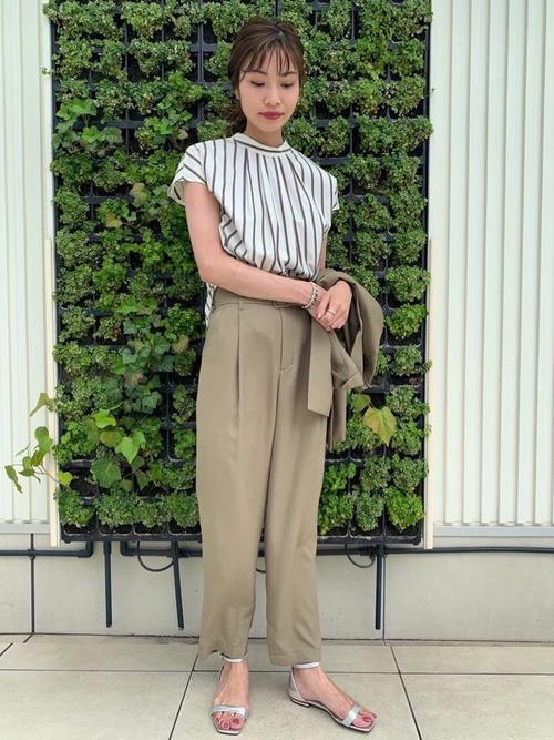 [green label relaxing] 【8/2~新規値下げ】◆FFCベルト フラット サンダル(1.5cmヒール)