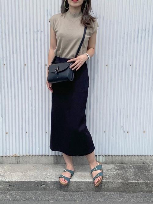 ユニクロ スカート4