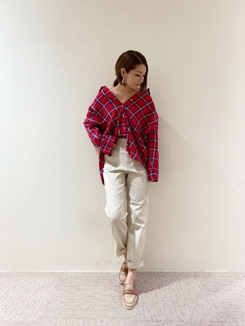 [Te chichi] ビックシルエットシャツ 長袖