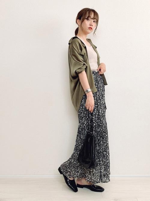 秋 フェミニンファッション プチプラコーデ5