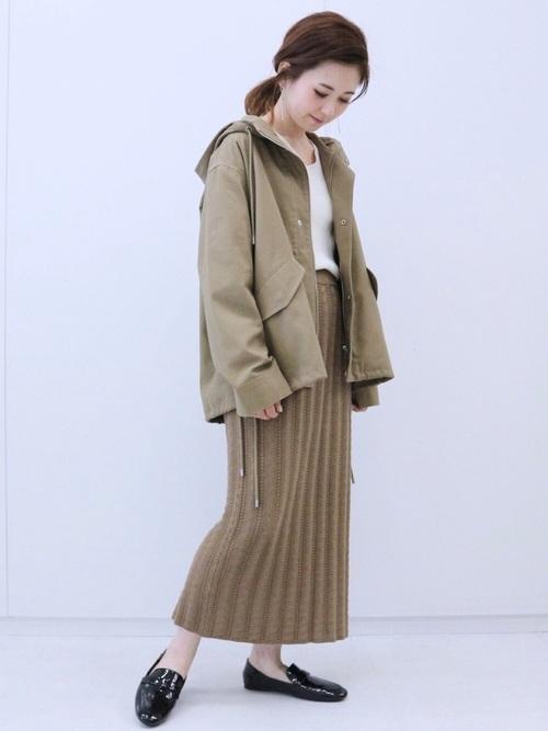 [AMERICAN HOLIC] ケーブルニットタイトスカート