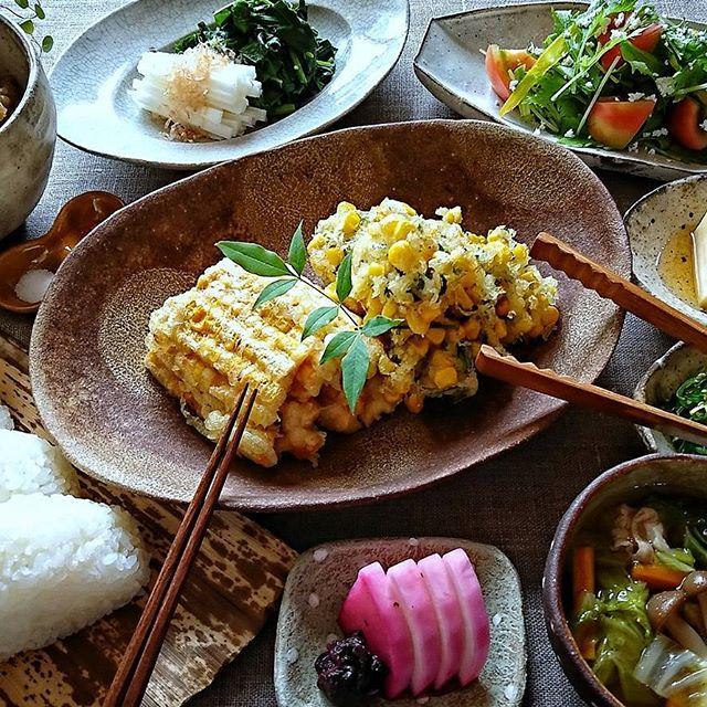 食感が違う!とうもろこしの天ぷら2種