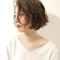 ショートボブ×前髪なしの髪型がおしゃれ♡大人のヘアスタイル特集!