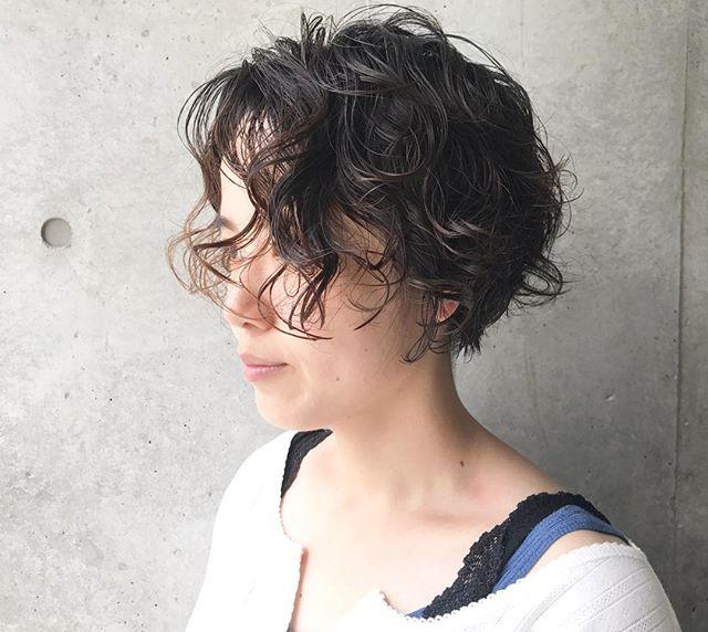 40代 ショートヘア13